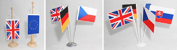 Stojánky stolních vlaječek