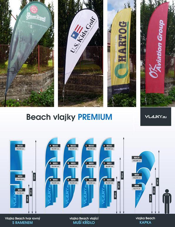 Beach vlajky