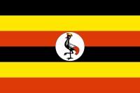 Vlajka Uganda