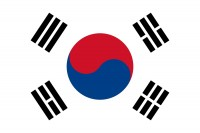 Vlajka Korejská republika
