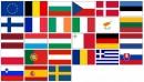 Komplet vlajek států EU