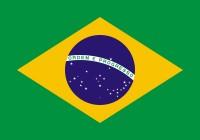 Samolepka - vlajka Brazílie