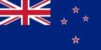 Samolepka - vlajka Nový Zéland