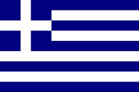 Samolepka - vlajka Řecko