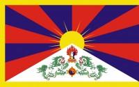 Samolepka - vlajka Tibet