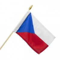 Mávací vlaječka ČR malá