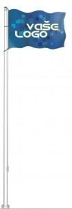 Sklolaminátový vlajkový stožár Klasik