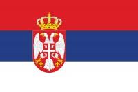 Samolepka - vlajka Srbsko