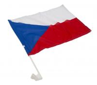 Carflag ČR (vlajka s držákem na auto)