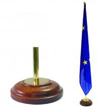 Stojan dřevěný se zlatými aplikacemi