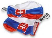 Slovenská vlajka na zrcátka auta - pár
