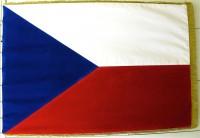 Slavnostní vlajka ČR - sametová