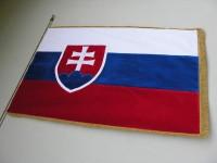 Slavnostní vlajka SR - sametová