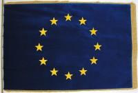 Slavnostní vlajka EU - sametová