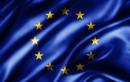 Luxusní saténová vlajka EU