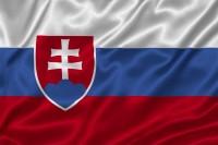 Luxusní saténová vlajka SR