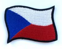 Nášivka - vlajka vlající ČR