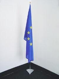 Komplet: interiérový stojan + vlajka