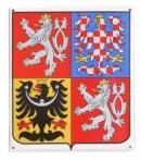 Smaltovaný státní znak ČR
