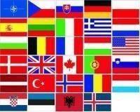 Výhodný komplet samolepek států NATO
